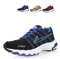 New 2013 hot sale men's athletic shoes,men running shoes,light weight breathable casual sports shoe for male free shipping MS102