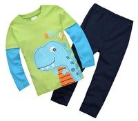 Excellent Quality Children's Autumn Tee Sets Boy's Long-sleeved Knitted Tshirt Set - JBLS24/JBLS85/JBLS89/JBLS90/JBLS91/JBLS96