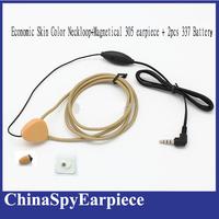Invisible hidden   spy earphone Micro  Wireless earpiece with inductive Neckloop