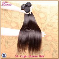 "malaysian virgin hair straight 3pc 8""-30"" 5A human hair extension Realove Hair Weaves Cheap Malaysian hair extensions Straight"