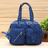 Fashion Washed Parachute Nylon Women's Handbag,Tote With Monkey Messenger Bags,Classic Female Basic Style Shoulder Bag,SJ067