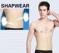 2014 special offer limited for man 3 lines hooks adjustable body shaper waistband plastic  slimming belt waist cincher girdle