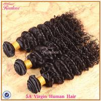 """peruvian virgin hair deep wave 5A 3pc 8""""-30"""" free shipping cheap peruvian hair extension deep curly virgin human hair weaves"""