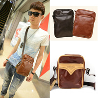 PU leather men messenger bags,casual shoulder bag for man,vintage small men's cross body bags,MB118
