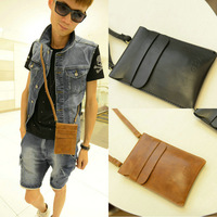 European style small leather men messenger bag,vintage shoulder bags for male,mini man cross body bag,MB134