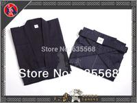 High Quality Navy Blue Kendo Aikido Iaido Hakama Gi Martial Arts Uniform Sportswear Kimono Dobok Free Shipping