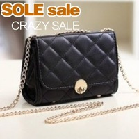 New 2013 Korean version of the influx of women bags candy-colored mini Lingge chain handbag women shoulder diagonal packet