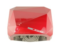 36W LED light therapy CCFL UV Nail Lamp Diamond Shape Nail Dryer for  Nail Art Led UV gel nail polish