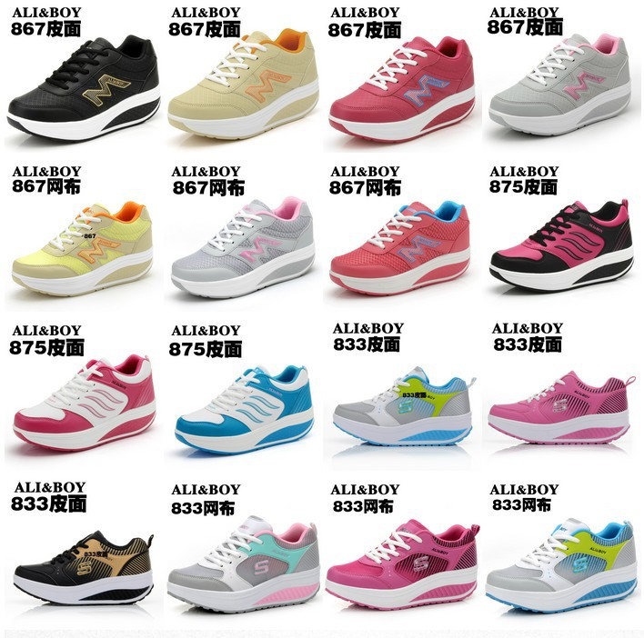 2014 -Fashion Women's Sneakers sneaker Shoes, Women's Sneakers Shoes Platform, Rocking Shoes, Fitness Shoes,Women's Sneakers!(China (Mainland))