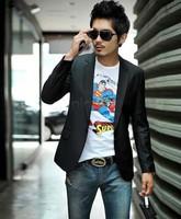 Mens fashion Business Blazer slim fit Jacket casual Suits Blazers Coat Button suit men Formal suit jacket Wholesale 18516 b9