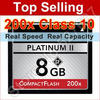 Brand CF 200x 8GB CF Card Platinum II 16GB Compact Flash Memory Card For Digital Camera Camcorder Drive Recorder Free Shipping