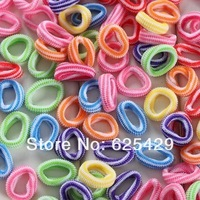 2014 NEW hair accessories for girls kids band elastic hairband for children hair rope for baby lot headband color black pink