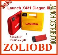 2014 New Arrival Auto Diagnostic Scanner 100% Original Launch X431 Diagun 3 free update online x-431 diagun 3 DHL free