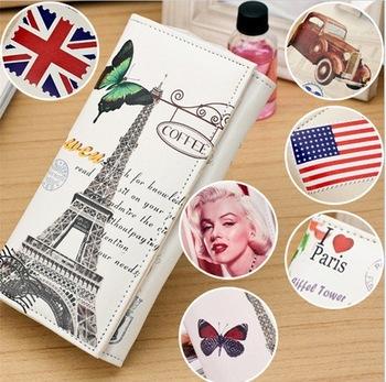 2014 NEW Fashion design British women wallets Bag restoring ancient ways per