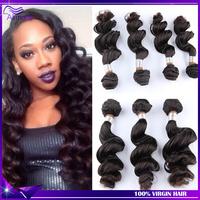 7A Malaysian Virgin Hair Loose Wave Rosa Hair Products 4pcs Lot Cheap Human Hair Weave Unprocessed Malaysian Hair Color 1b