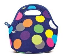 2014 nuevo estilo de moda marca original& bolsa construido almuerzo bolsa de maquillaje para mujeres multicolor bolsa térmica bolsas envío gratis(China (Mainland))