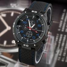 2015 new Quartz Business Men s Watches Men s Military Watches Men s Corium Leather Strap
