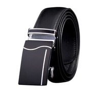 Hot selling cow genuine leather men belts for men,cintos masculinos automatic buckle 110cm-125cm two colors free shipping