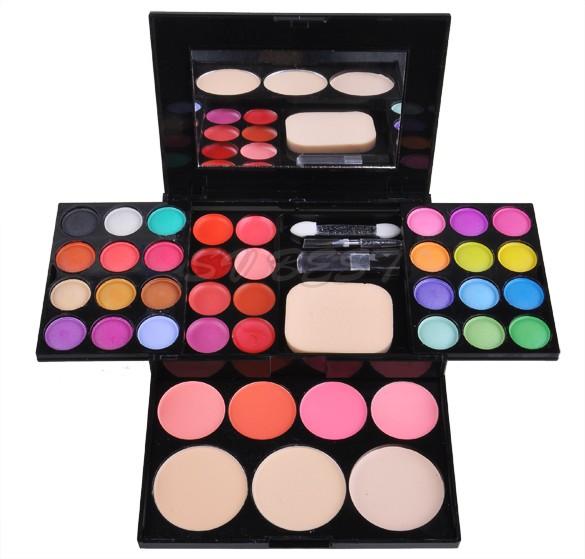 Factory Price Pro 39 Colors Matt Eyeshadow Palette Fashion Eye Shadow Set In Box with Mirror New Fashion Maquiagem 25(China (Mainland))