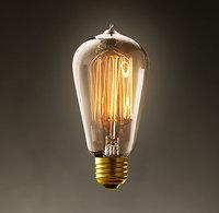 10pcs/lot  E27 Edison Bulb Light 40W 60W Vintage 110V 220V  Retro Vintage Lamp Bulb Carbon Filament for Pendant Lighting