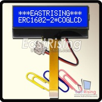 NEW DESIGN, LCD Display 16x2 Character,Compact Size,Low Power,White on Blue,Free Connector,Free Shipping 3pcs/lot