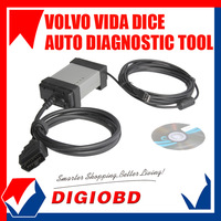 VOLVO professional universal diagnostic tool interface latest volvo tool 2013A software Free shipping volve dice Volvo vida dice