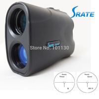 Hot Selling 6-500m Black Portable Laser rangefinder Laser Distance Meter and Speed Finder LRM500 for Golf and Hunting
