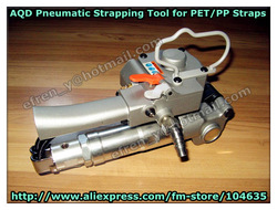 Guaranteed 100% New AQD-19 Pneumatic PET Strapping Machine /Plastic Packing Tool for 13-19mm PET strap(Tension>=3500N)(China (Mainland))