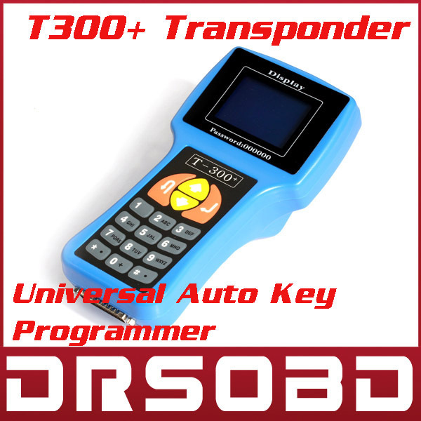 2014 promotion sale T300 key programmer Newest version V13.08 universal car key transponder + DHL Free shipping(China (Mainland))