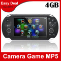 New 4.3 Inch PMP Handheld Game Player With 8GB MP3 MP5 Video Camera TV OUT Multi-Function Player Free Shipping
