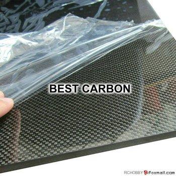 2.0mm x 400mm x 500mm 100% Carbon Fiber Plate , carbon fiber sheet, carbon fiber panel ,glossy surface