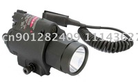 Tactical CREE LED Flashlight Red Laser Sight combo    M6  Light / Laser  FREE SHIPPING