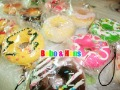 Free Shipping/ promotion / Cute cartoon Donut II squishy charm / mobile pendant Strap / Wholesale