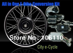 disc brake, 48v 1000w electric bike conversion kits with rear wheel, 48v 1000w e-bike conversion kits with rear wheel(China (Mainland))