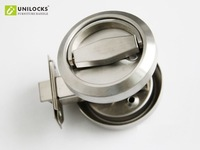 Stainless Steel 304 Recessed Cup Handle/ Privacy  Door Locks