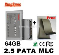"Kingspec 2.5 ""  PATA Solid State Drive hd ssd ide 64GB 2.5 disk MLC hard drive Internal Hard Drives ssd 60 gb dropshipping"