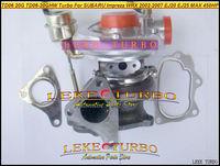 NEW TD06 20G TD06-20G TD06-20GHW Turbo Turbocharger For SUBARU Impreza WRX 2002-2007 MAX HP 450HP Engine EJ20 EJ25 With Gaskets