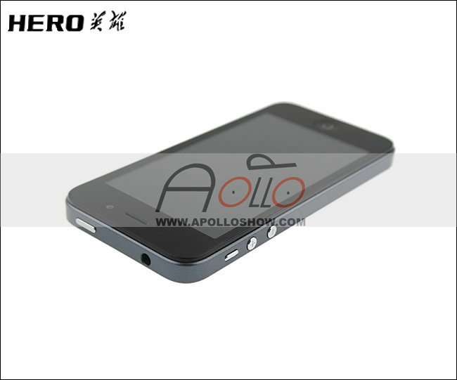 """HOT Hero H2000+ MTK6577 Dual-core 512MB+4GB 1.2GHz 4.0""""TFT(854*480)Capacitance Screen with GPS WIFI 3G Smart phone for i5"""