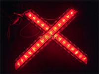 New hot LED car brake red rear lighting for Mazda 2 3 6 8, car LED rear fog light, car modified light,1 set , Free shipping
