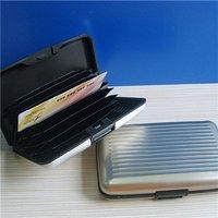 Business ID Credit Card Holder Aluminum Case Box #8102