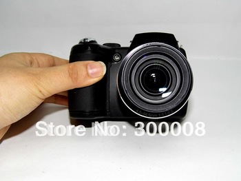 Free Shipping professional full hd1080P video SLR Digital Camera with 16.0 mp CCD sensor and 21xoptical zoom
