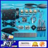 F02009-A RC KK 4Axis quadCopter UFO ARF/Kit RTF(W/TX&amp;RX):V5.5 Program Circuitboard+A2212 Motor+ESC+AKKU+X525 Frame +Freeship(China (Mainland))