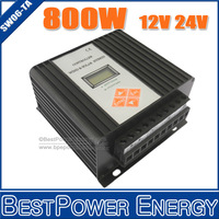 HOT SALE!! Street Lamp Controller 12V/24V Auto Working Wind Solar Hybrid Controller 800W, MPPT Wind Turbine Controllers