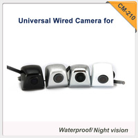 Free shipping wired  universal car frontview/ rearview parking camera night version high quality (Default rearview )