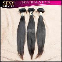 Natural Color 1b Ms Lula Hair 12-28 Inches 3pcs DHL Free Shipping Unprocessed Peruvian Virgin Hair Straight