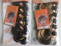 Africa hair weft ,short synthetic hair weft  PAMEL ,8PCS/pack 160g free shipping