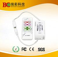 4 DIY modes LED PWM dimmer 12V 4A Led Dimmer  RF Remote For SMD 5050 LED Strip Light Wholesale/Retail