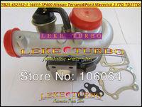 NEW TB25 452162-0001 14411-7F400 452162 Turbo Turbocharger For Nissan Terrano II 1993-2007;Ford Maverick TD27TDI 2.7L TD 125HP
