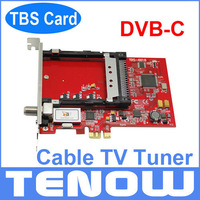 DVB-C Cable TV Tuner TBS6618 for Watching and Recording Digital Cable TV on PC,used for Watching Encrypted Pay TV