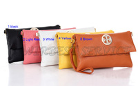 NEW ARRIVAL (5pcs/lot) fashion 5 candy colors multi-function women wallets, for iphone wallets purses wholesale(QH21)